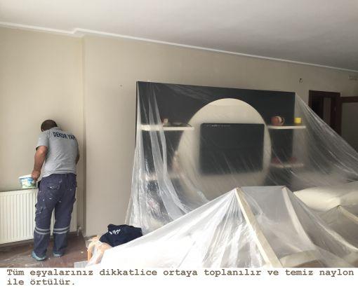Ataşehirde profesyonel boya ekibi