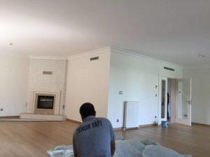 Villa için dış boyama