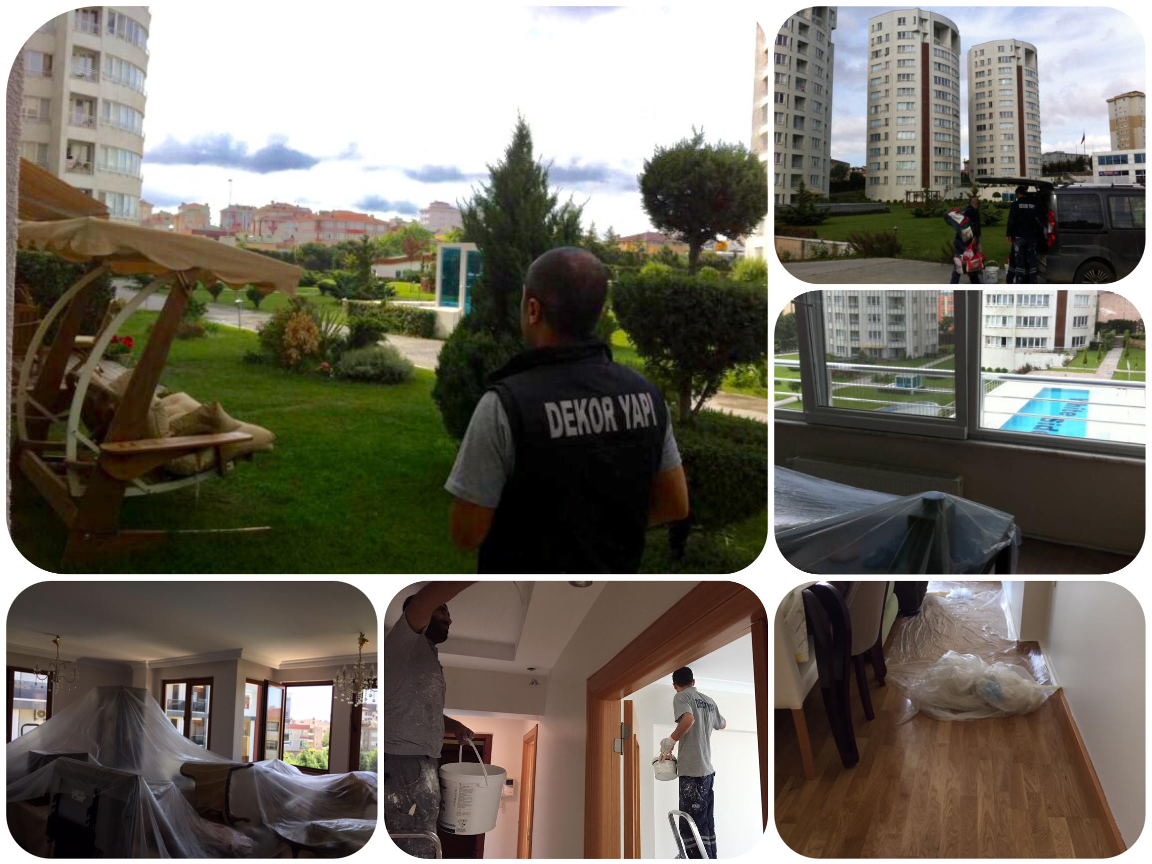 #istanbul'da ev boyama hizmeti