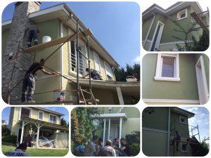 #profesyonel villa boya Çalışmalarımız
