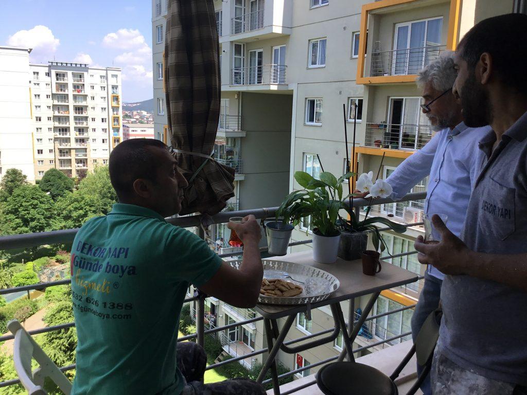 #istanbul 1günde boya uygulamasını tercih ediyor