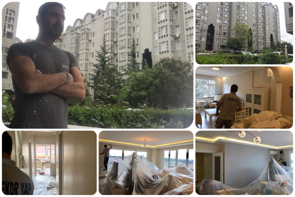 Uzman tecrübeli boya ekibi olarak Ataşehir civarındakitun boya işleriniz için aramanızı bekliyoruz