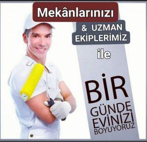 #istanbul boya ustası arıyorum