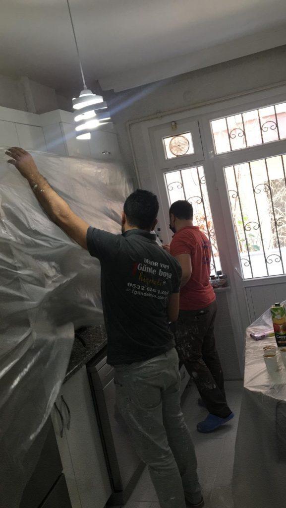İstanbul'da En iyi kalitede boyacı ustası ekibi