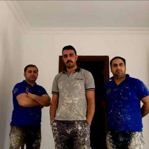 boyacı ustası ekibi