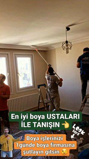 #Ataşehir semtinde kaliteli badana ekibi