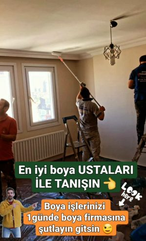 #Kurtköy Kaliteli güvenli boyacı ekibi